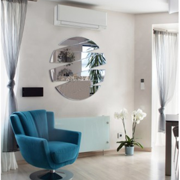b69fdb47 Nowoczesne dekoracyjne lustro, H8480A 90 cm - Passion and Design ...